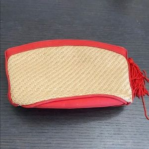 Vintage YSL Yves Saint Laurent makeup bag case